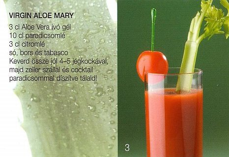 Virgin Aloe Mary moktél