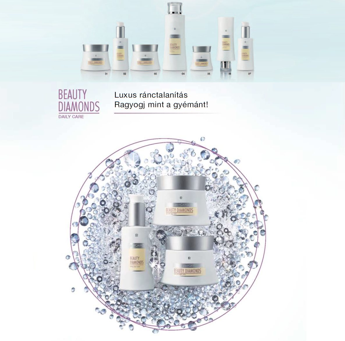 Zeitgard Beauty Diamonds Ránctalanító Szérum